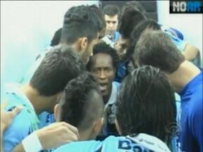 Confira os bastidores da virada gremista sobre o São Paulo no domingo - Grêmio conseguiu fazer 2 a 1 no Olímpico após sair perdendo a partida.