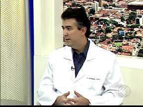 Quadro 'MGTV Responde' em Uberaba, MG, tira dúvidas sobre gravidez - Especialista tira dúvidas sobre gravidez.