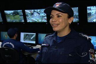 Equipe de mulheres chefia centrais de videomonitoramento da Grande Vitória - Mulheres comandam estão no comando em diversas partes do estado.