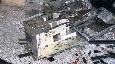 Novos casos de ataques a caixas eletrônicos são registrados em Minas Gerais - A população está assustada.