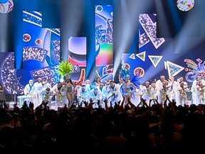 Escolas de samba do Grupo Especial gravam clipes do carnaval 2013 - Sete escolas participaram da segunda etapa das gravações das vinhetas. Pelo menos 90 profissionais participaram dos bastidores. As escolas da elite do carnaval desfilam nos dias 8 e 9 de fevereiro.