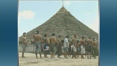 Terras indígenas viram tema de discussão na Câmara dos Deputados, em Brasília - Portaria que amplia o controle do Estado sobre terras indígenas está causando discussão na Câmara dos Deputados, em Brasília. AGU cria impasse entre indígenas e Governo Federal.
