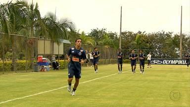 Cruzeiro se prepara para o jogo contra o Coritiba - Disputa é neste domingo (25) no Estádio do Independência, em Belo Horizonte.