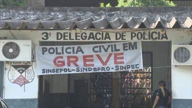 Governo de RO discute propostas para amenizar greve da Polícia Civil - Paralisação dos servidores começou na segunda-feira. Ações serão tomadas para que população não seja atingida, segundo Sesdec.