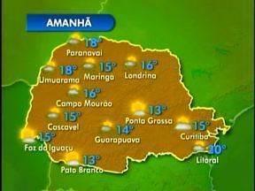 Chuva deve diminuir neste domingo - Confira na previsão do tempo para a região de Londrina.
