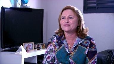 Maria Gorete já ganhou mais de 100 prêmios - Ela é considerada a sortuda de Fortaleza