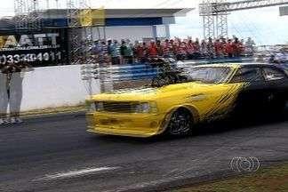 Disputada a 5ª etapa do Centro-Oeste de km de arrancada em Goiânia - Competição foi no autódromo internacional da capital.