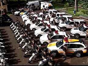 Operação Natalina de 2012 é lançada em Uberlândia, MG - Polícia Militar fez uma reunião nesta manhã de terça-feira (27) para informar como será o policiamento nas ruas da cidade durante o período de festas.