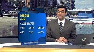 Cidades do Ceará correm risco de surto de dengue - Número de mortes cai no estado em relação ao ano anterior.