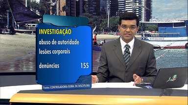 Mais de seis mil policiais são investigados no Ceará por queixas da população - Maior parte é de policiais militares.