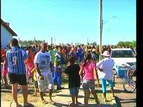 Mais de 500 crianças de baixa renda participam de festa de fim de ano em Uruguaiana - Atividades artísticas, culturais e recreativas foram realizadas.