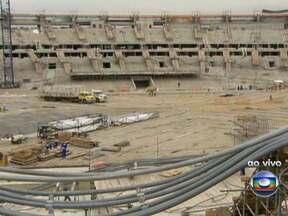 Primeiro camarote do Maracanã já está pronto para a final da Copa do Mundo 2014 - O Maracanã começa a tomar forma para a final da Copa do Mundo 2014. O primeiro dos 110 camarotes já está pronto. A área de 80m² tem capacidade para 25 pessoas.