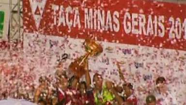 Boa Esporte é campeão da Taça Minas Gerais - Time assegurou uma vaga na Copa do Brasil do ano que vem.