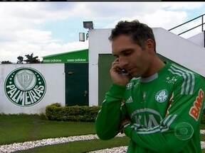 Fernando Prass se apresenta como o novo reforço no gol do Palmeiras - Ex-goleiro do Vasco entra na equipe paulista que não contratava um goleiro há um bom tempo.