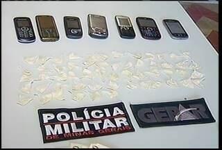 Quatro pessoas são detidas por suspeita de tráfico de drogas - O crime foi na região central da cidade.