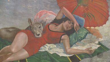 Caconde recebe exposição de obras do Pintor Edmundo Migliatio - Caconde recebe exposição de obras do Pintor Edmundo Migliatio.