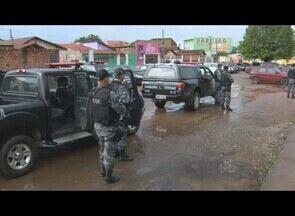 Policiamento nas ruas de Porto Velho é intensificado no fim do ano. - Três regiões comerciais da capital ganharam reforço na segurança.