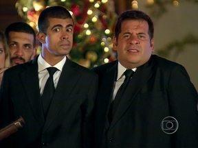 Os Caras de Pau - programa do dia 23/12/2012, na íntegra - Veja as loucuras de Pedrão e Jorginho no Natal