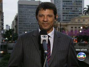 Novo prefeito de São Paulo, Fernando Haddad fala com exclusividade ao SPTV - O prefeito eleito nas eleições de outubro de 2012 fala das prioridades de seu governo.