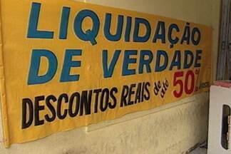 Aprenda a diferença entre promoção e liquidação e quando aproveitá-las - Guilherme Baía dá dicas financeiras para os telespectadores do Bom Dia Paraíba.