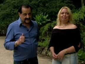 Rosimary faz passeio com Brito no Jardim Botânico - Ela é direta e pergunta o que Brito acha dela