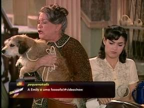 Revirando o Baú: Nicette Bruno já teve outro mascote - Em alma Gêmea a atriz era apegada ao pequeno Jolie