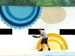 Grafite no BBB! Veja detalhes da decoração da casa - Conheça os artistas que pintaram a casa