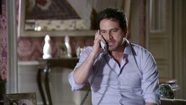 Celso ameaça colocar a polícia atrás de Antonia - Carlos afirma para Deborah que não sabe do paradeiro de Antonia. Celso pede para Isaurinha ligar para Wanda e faz ameaças