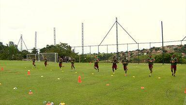 Semana no Atlético-MG começa com teste de resistência - E muitos jogadores ficaram exaustos.