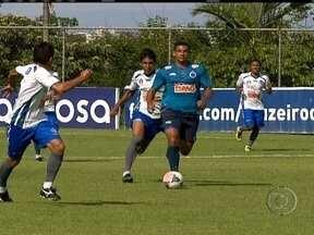 Reforço do Cruzeiro para temporada de 2013, Diego Souza agrada torcedores - O técnico Marcelo Oliveira fala sobre a forma física do jogador.