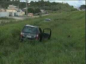 Veículos que disputavam racha provocam acidente na BR 116 - Acidente foi em Campina Grande do Sul