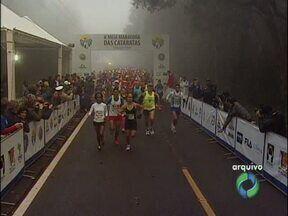 7ª edição da Meia Maratona das Cataratas será em maio - Participantes podem fazer inscrição antecipada com descontos.