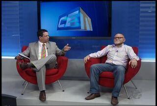 População de Juazeiro do Norte reclama de vazamentos nas tubulações das casas - Para explicar o problema, CETV 1 entrevista Francisco Maurício, técnico da Cagece.