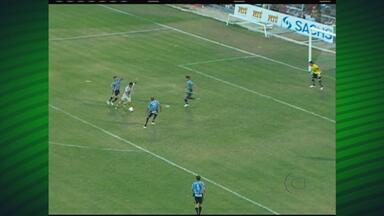 Primeira rodada do Estadual tem goleada - Times do interior jogaram entre si na abertura do torneio
