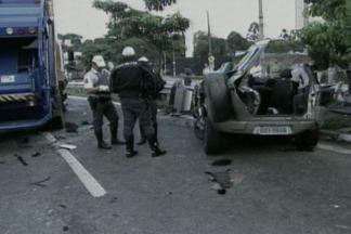 Acidente em São Paulo mata duas paraibanas - Duas jovens paraibanas que estavam passando férias em São Paulo sofreram um acidente de carro.