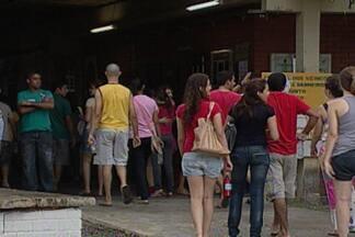 Terminaram hoje as provas da terceira etapa do PSS 2013 da UFPB - Mais de 44 mil candidatos disputam 5 mil e 90 vagas na Universidade Federal da Paraíba.