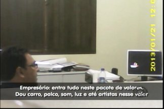 Empresário de São Paulo é preso em Barra Velha por tentativa de suborno - Vídeo foi feito pela Policia Civil que acompanhou negociação