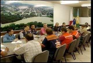 Reunião é realizada em Montes Claros para montar estratégias de prevenção às chuvas - Reunião é realizada em Montes Claros para montar estratégias de prevenção às chuvas.