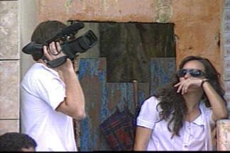 Produção audiovisual em Campina Grande apresenta grande crescimento - É cada vez mais comum encontrar um set de filmagem nas ruas da cidade.