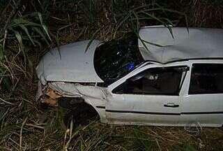 Em um dia, cinco pessoas morreram em acidentes na BR-267 - Cinco pessoas morreram e três ficaram feridas em um acidente no fim da tarde de ontem na BR-267, que liga Nova Alvorada do Sul a Bataguassu.