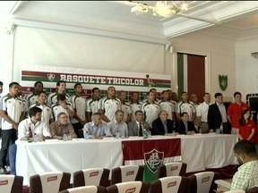 Com o objetivo de chegar ao NBB, Fluminense apresenta time de basquete - Sem participar da competição desde 2003, tricolor está animado para voltar ao campeonato nacional do esporte.