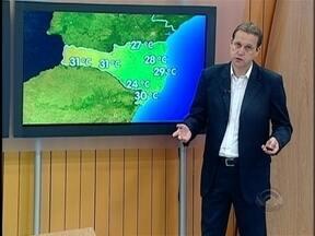 Confira a previsão do tempo para a terça-feira em Santa Catarina - A previsão é do meteorologista Leandro Puchalski.