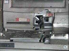 Bandidos tentaram explodir um caixa eletrônico de madrugada - Esta madrugada bandidos tentaram explodir um caixa eletrônico na região metropolitana de Curitiba.