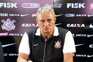 Tite espera Corinthians com titulares a partir da quarta rodada do Paulistão - Técnico aproveita para utilizar novidades e testar os reservas.