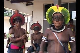 Índios Kayapó participam de reunião em Altamira - Objetivo é definir melhorias nas áreas de saúde e educação dos indígenas.