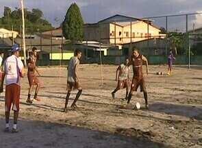 Holanda-AM intensifica os treinos físicos para o Amazonense - Holanda intensifica os treinos físicos para o Campeonato Amazonense.
