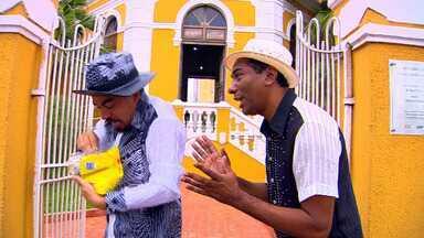 Nico e Lau em mais um minuto do Humor especial de Carnaval - O É Bem Mato Grosso começa às 13h50, todos os sábados, na TV Centro América.