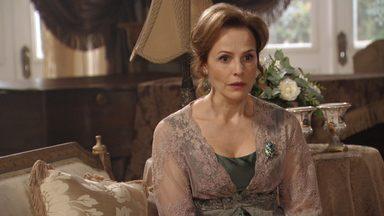 Cena Bônus: Indignada com preconceito de Fernando, Margarida quer revirar o passado - Margarida diz a Edgar que vai procurar alguém que pode acabar com o preconceito do filho