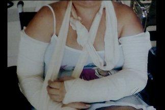 Policial Militar foi preso acusado de espancar uma amiga da ex-mulher - A vítima que sofreu graves ferimentos pelo corpo denunciou o caso na delegacia da mulher.