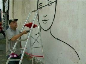 Conheça o grafiteiro que fez arte no BBB13 - Rui Amaral é um dos responsável pelos desenhos na casa mais vigiada do país